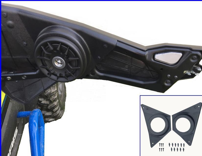Extreme Metal Products NEW RZR Door Speaker Pods | ATV ...