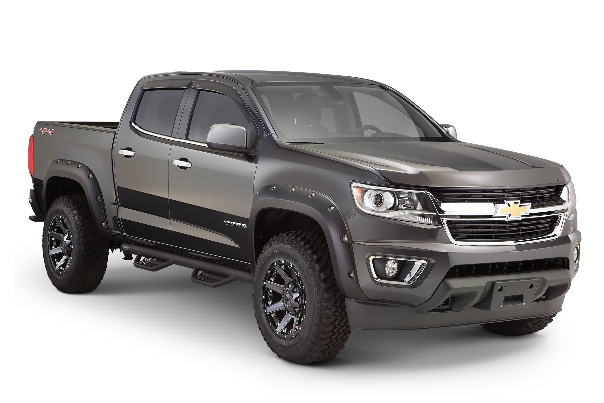 2015 Chevy Colorado Bushwacker | Autos Post