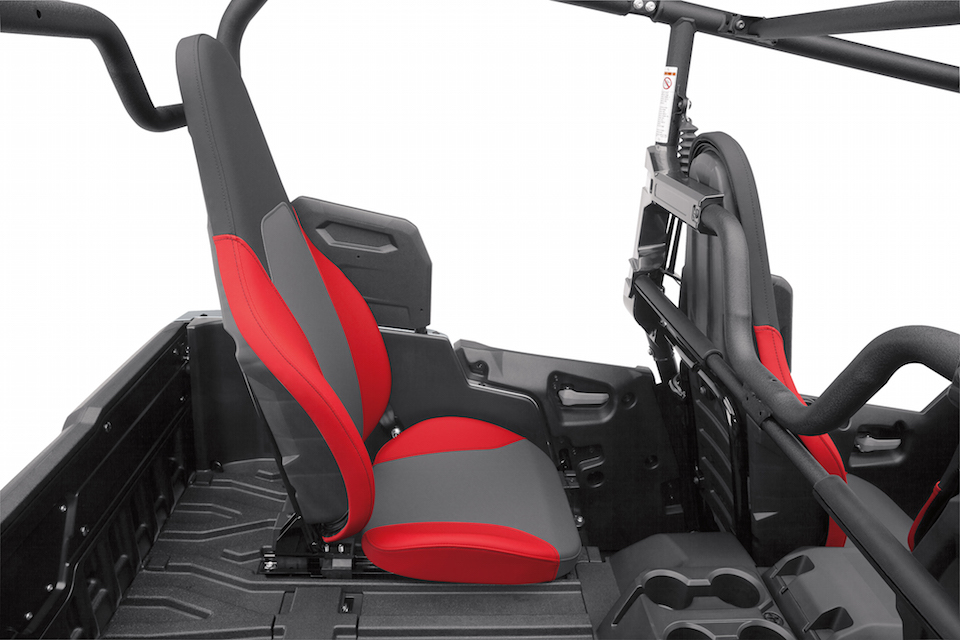 Yamaha announces all new wolverine x4 atv illustrated for Yamaha side by side 4 seater