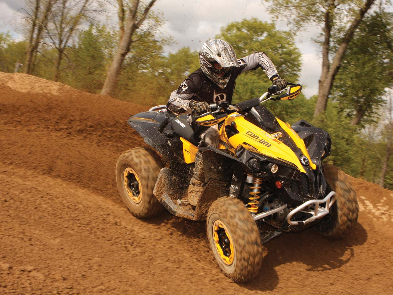 Can Am Renegade 800 >> Xc Xtreme Can Am Renegade 800x Xc Atv Illustrated