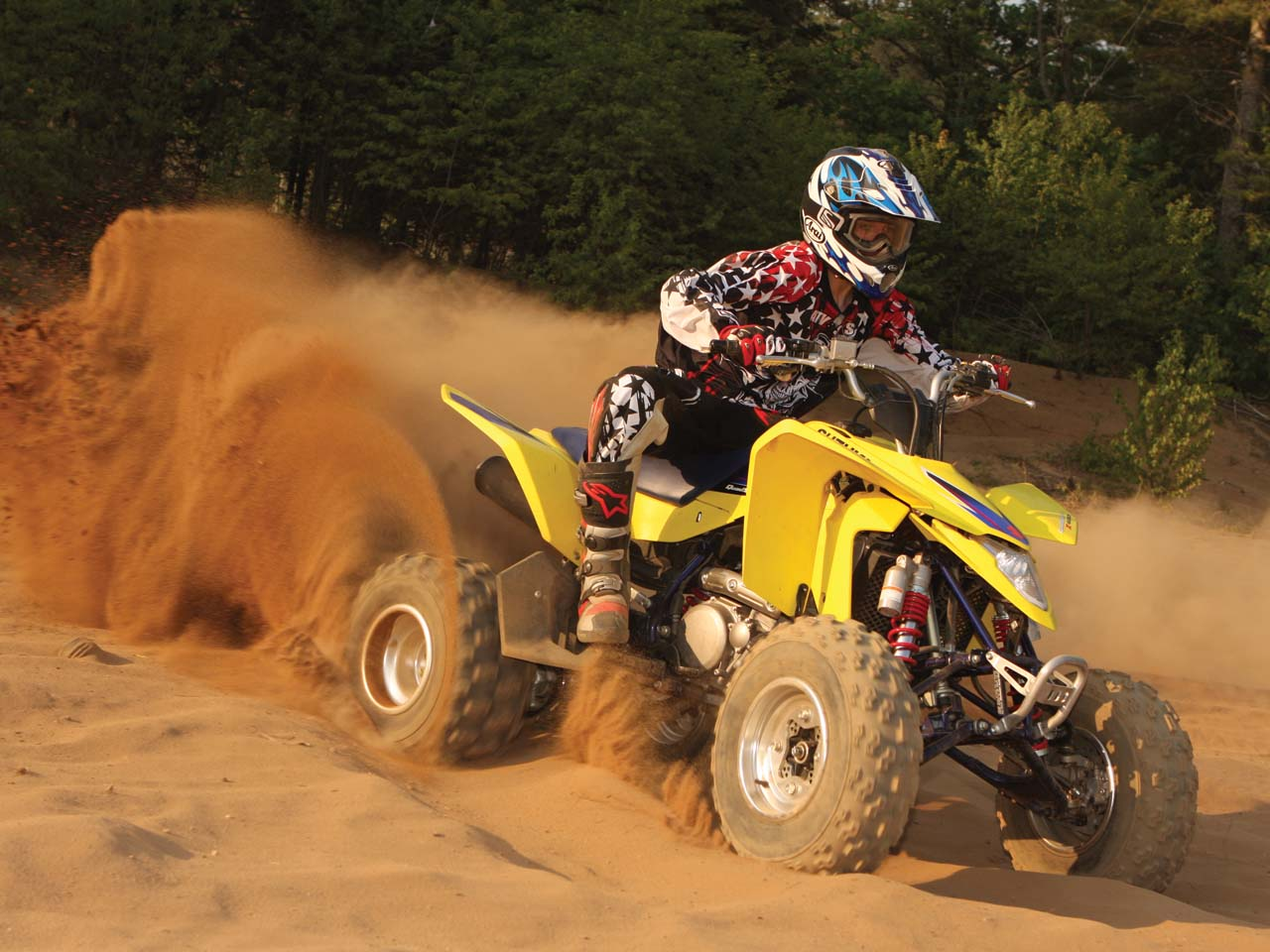 Playmate of the Year - The Suzuki LTZ 400 | ATV Illustrated