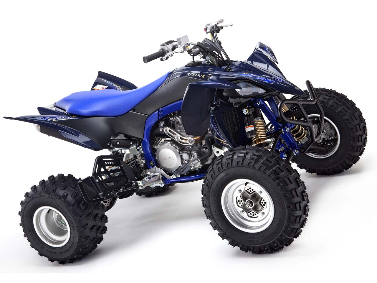 Sand storm yamaha special edition sport atvs atv for Yamaha atv yfz450