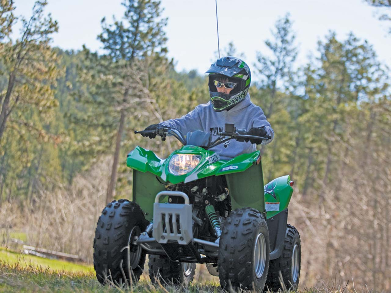 Youth quad round up mini quad buyers guide atv illustrated kymco recommends age 12 and over 2011ctic cat90dvxont lefteenriding publicscrutiny Gallery