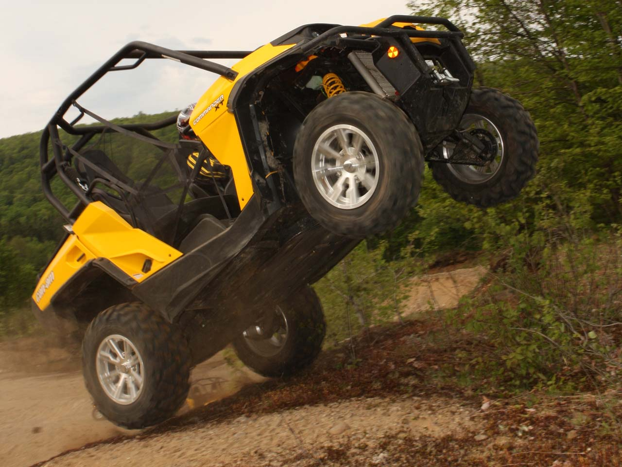 Salute the Commander - New Can-Am Side-x-Side First Ride! | ATV ...