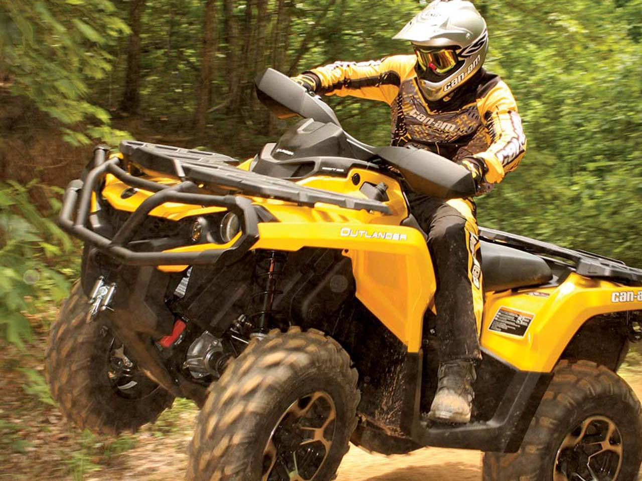 ATV Illustrated's Best Open Class Utility ATV of 2011 -The Can-Am ...