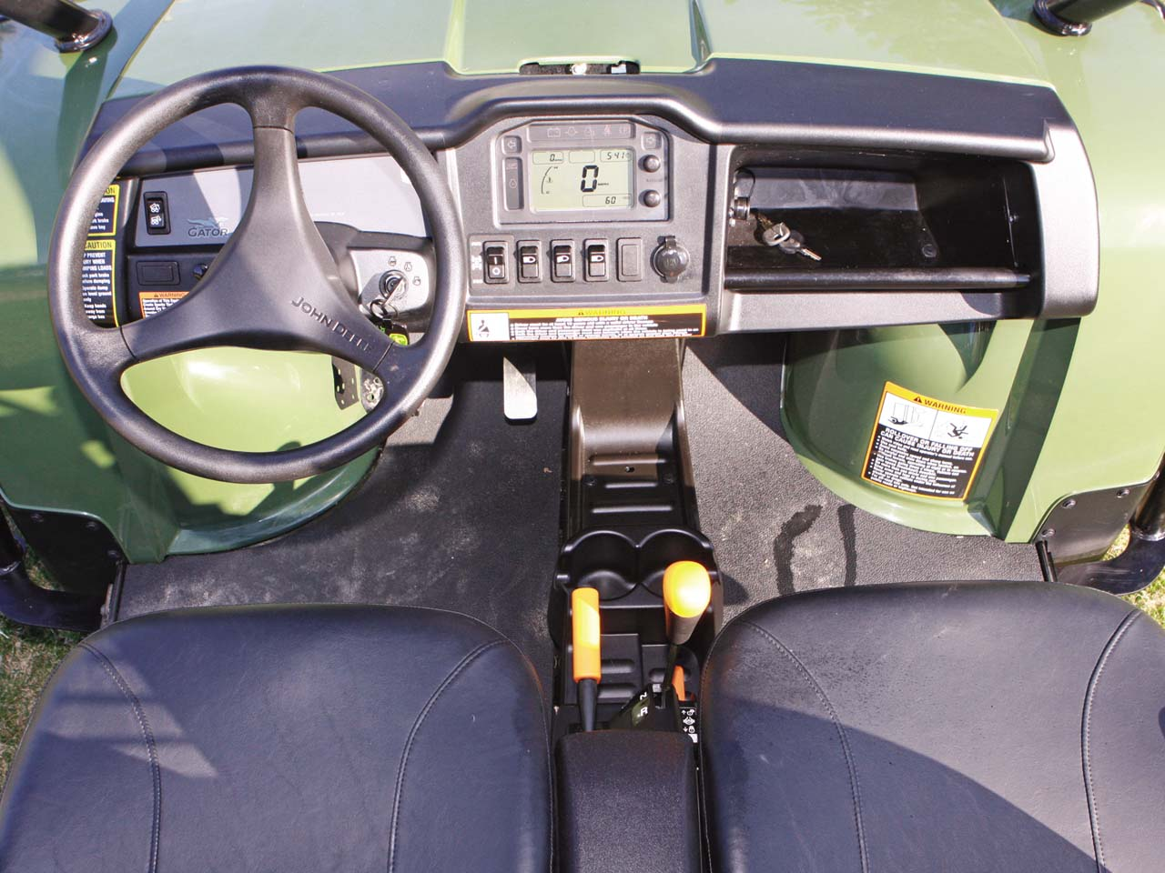 Trail And Farm Tested The John Deere Gator 825 Xuv Atv Illustrated