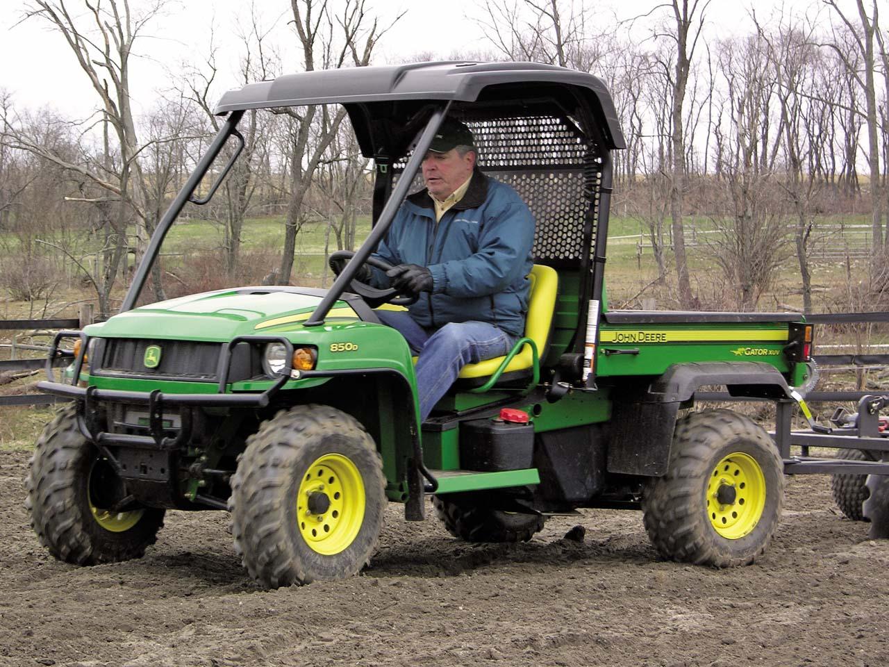John Deere Gator : Manufacturing milestone gator farm atv illustrated