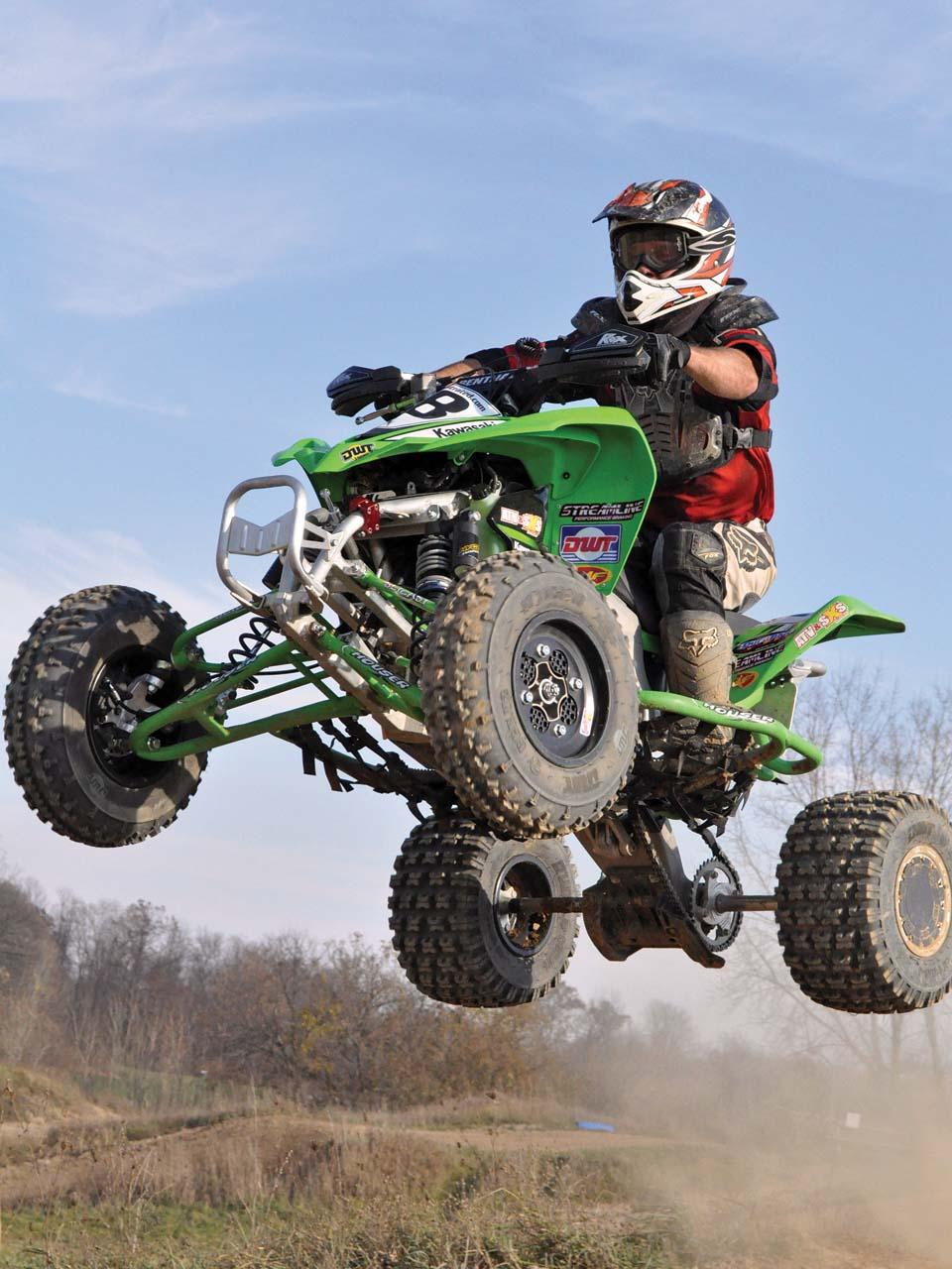 Project Quad - 2011 KFX450R, Part II | ATV Illustrated