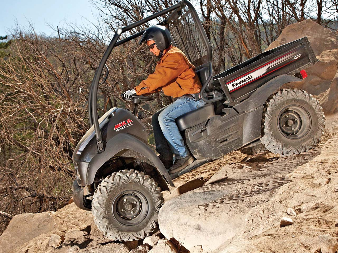 kaw trails! new machines - new ride area | atv illustrated