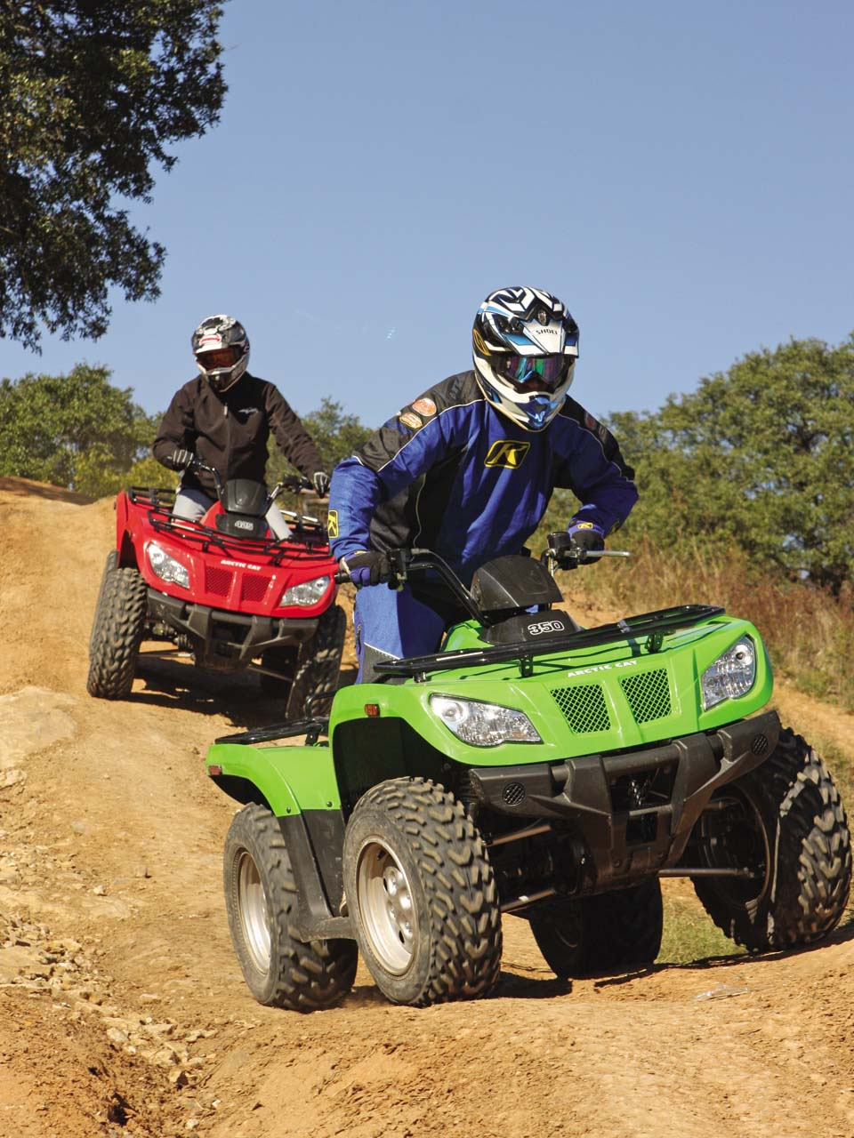 first ride new arctic cat atvs atv illustrated. Black Bedroom Furniture Sets. Home Design Ideas