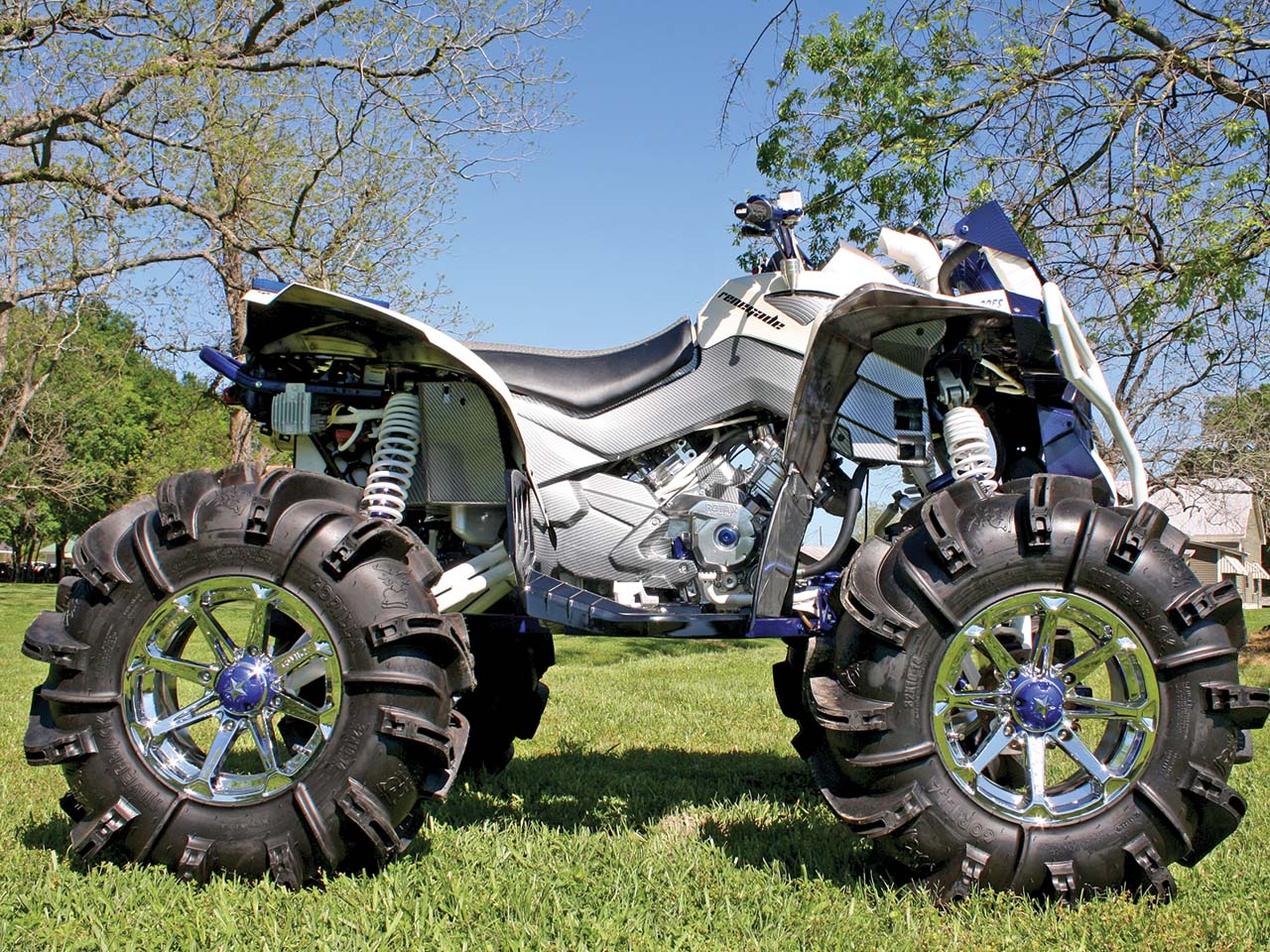 Can-Am Project - Ben's Big Build | ATV Illustrated