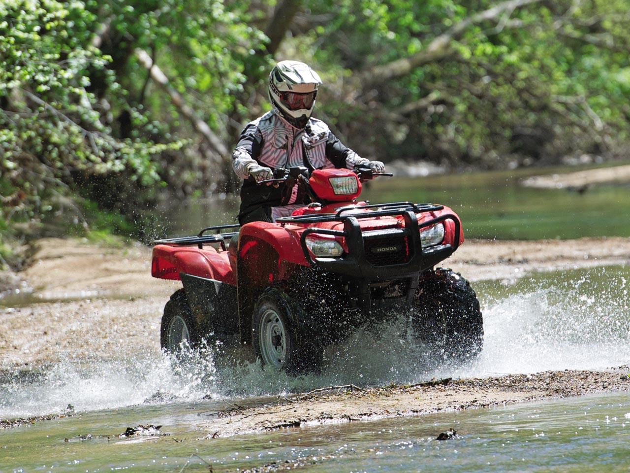 First Ride One Tough Foreman Atv Illustrated