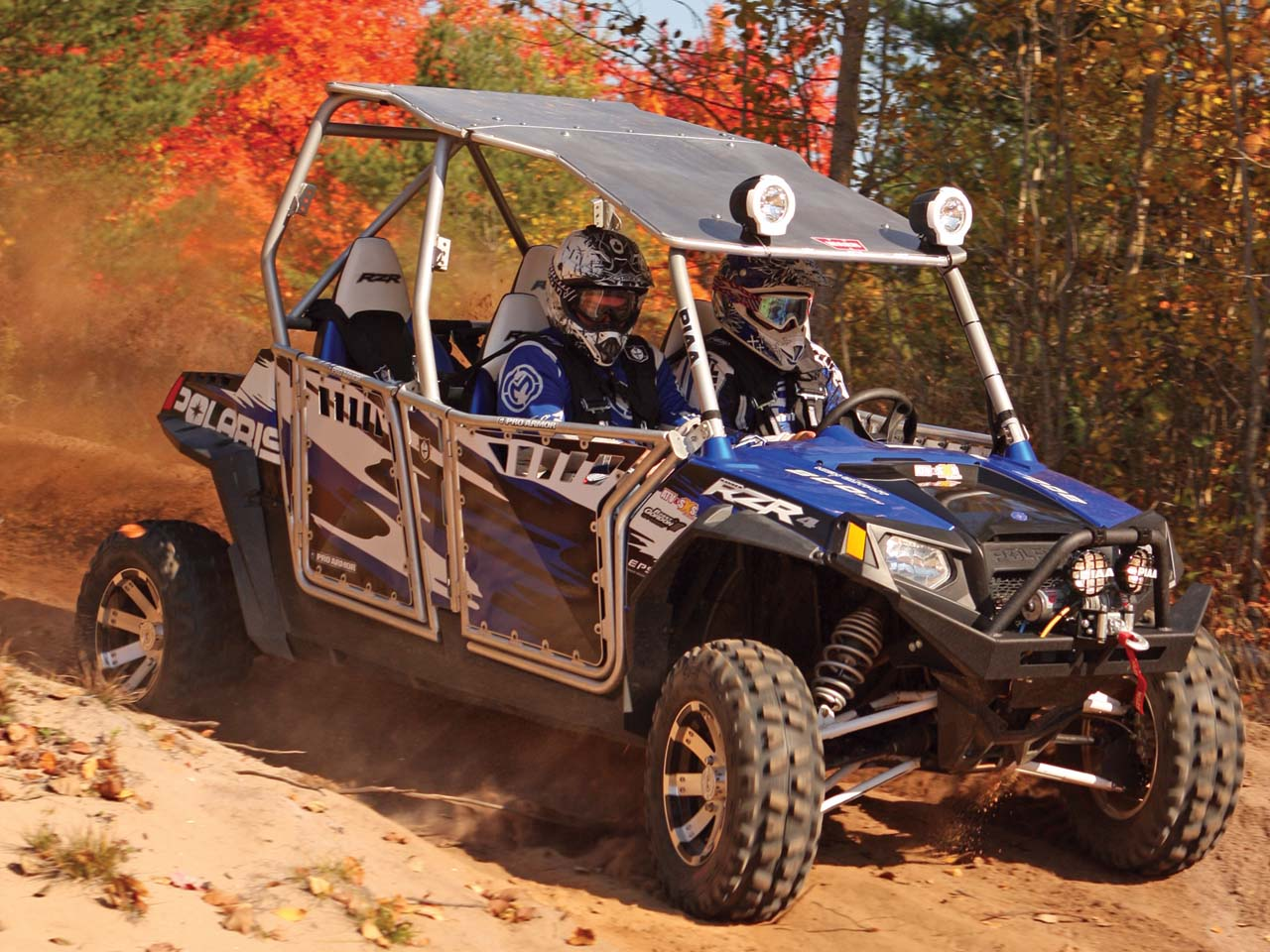 Mud Buddy Wiring Diagram Z Atilde Frac Ndapp Bella R Diagrams Polaris Rzr Upgrade Accessories Review Atv Illustrated Everyone Loves The Look Of Our Rzr4 Bumper