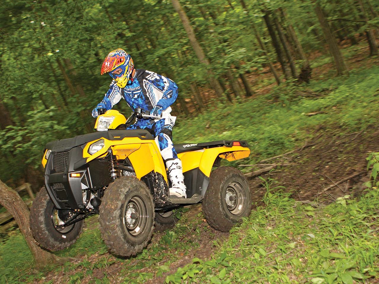 Ride Report - The Polaris Sportsman 500 H O  | ATV Illustrated