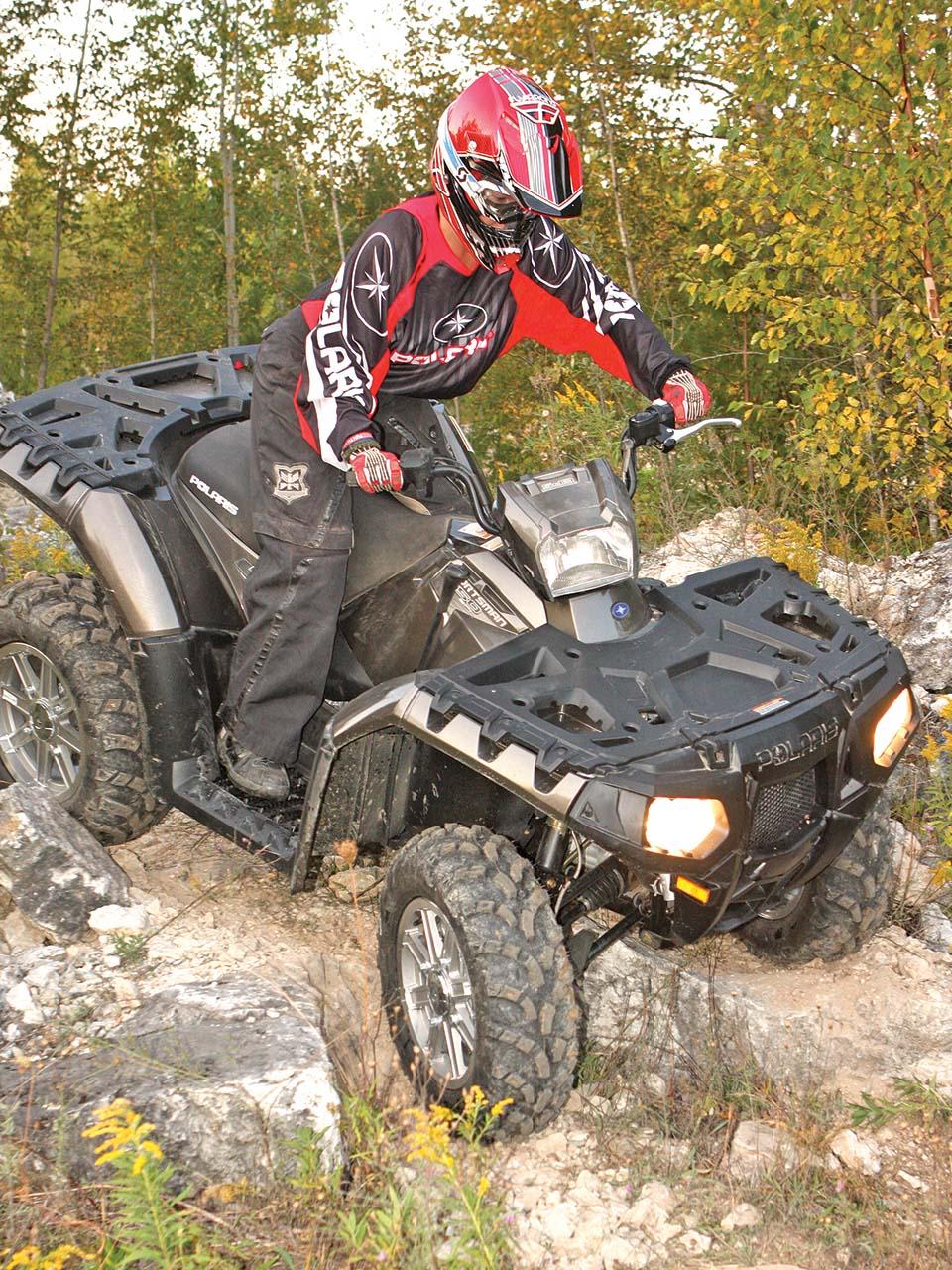 Ride Tested - The Polaris Sportsman 550 | ATV Illustrated
