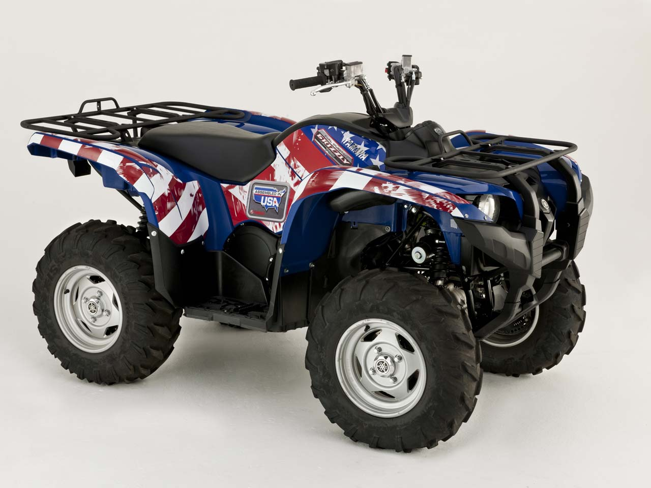 yamaha launches assembled in usa grizzly 700 eps atv. Black Bedroom Furniture Sets. Home Design Ideas