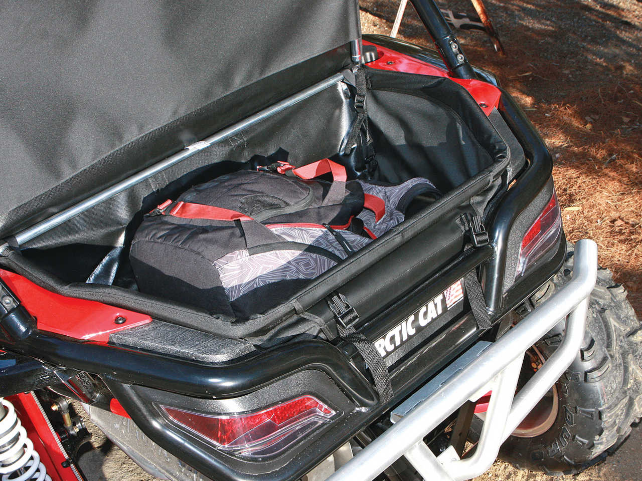 Custom Arctic Cat Wildcat Cargo Rack Www Topsimages Com
