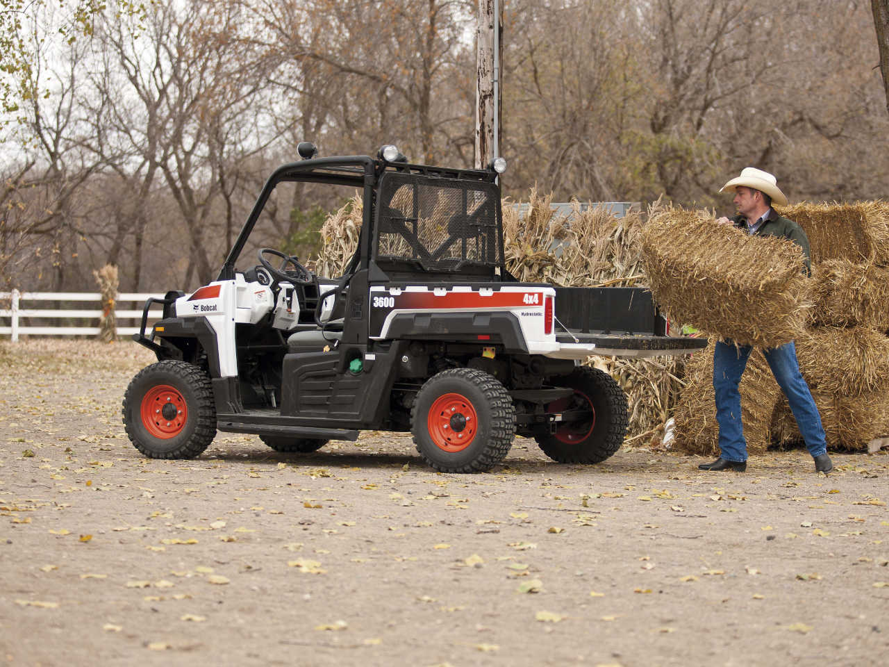 Bobcat Company launches new 3600 and 3650 utility vehicles