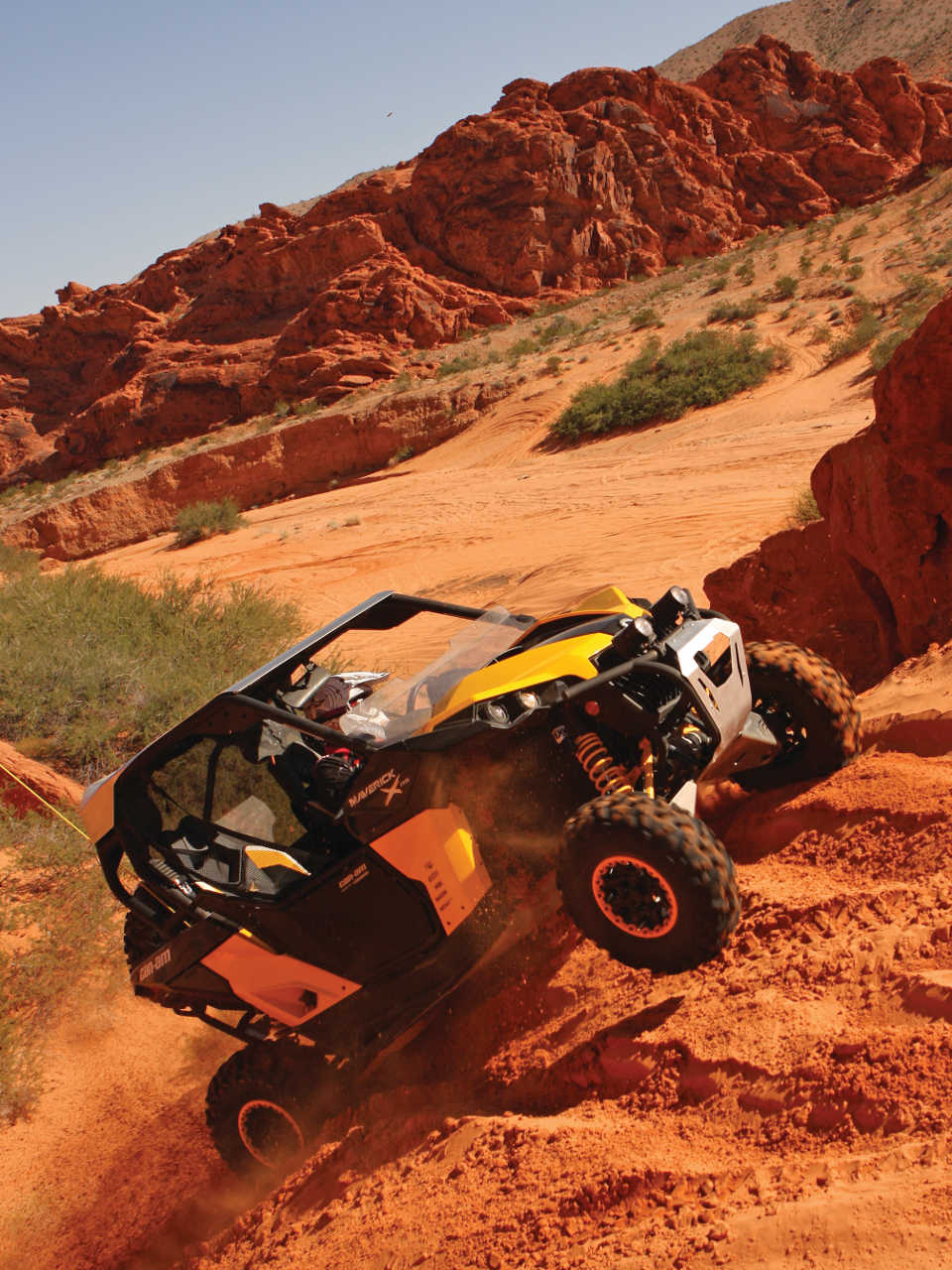 Ride Area Review Valley Of Fire Atv Illustrated