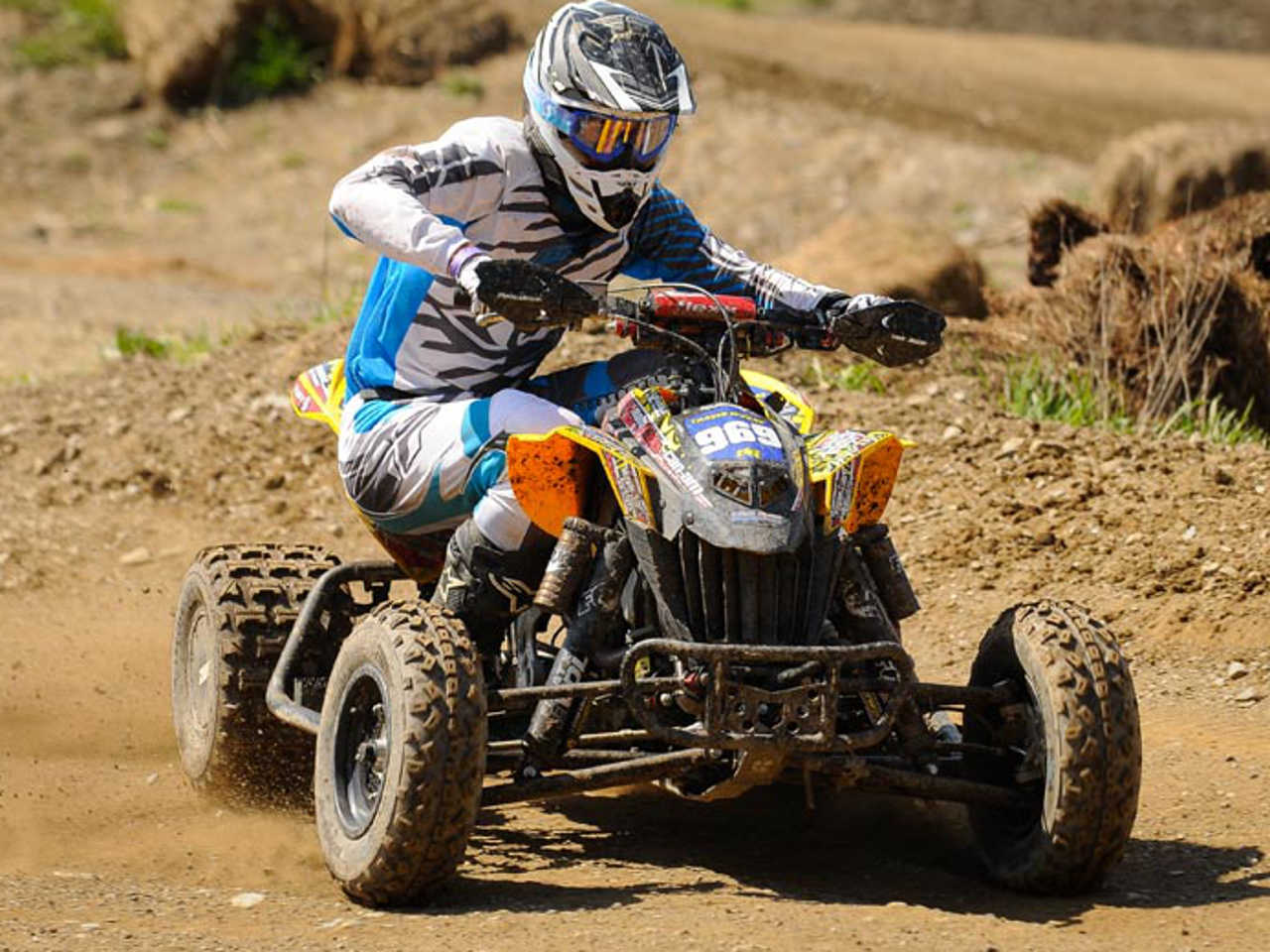 can am ds 450 pro travis moore wins neatv mx pro and pro am classes in new york atv illustrated. Black Bedroom Furniture Sets. Home Design Ideas