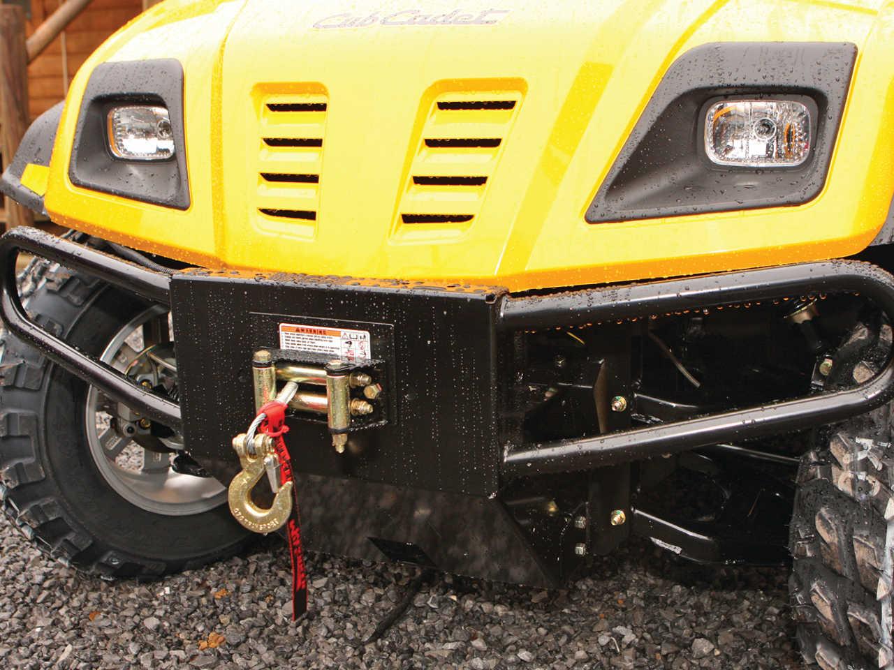 Cub Cadet Bumper : Work and trail tested working class dream machine atv