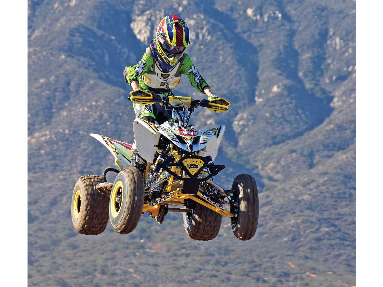 Build Project - Triumph Motorsport's Yamaha Raptor 250 | ATV Illustrated