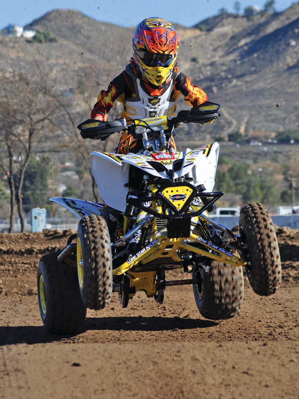 Yamaha Kids Atv >> Build Project - Triumph Motorsport's Yamaha Raptor 250 ...