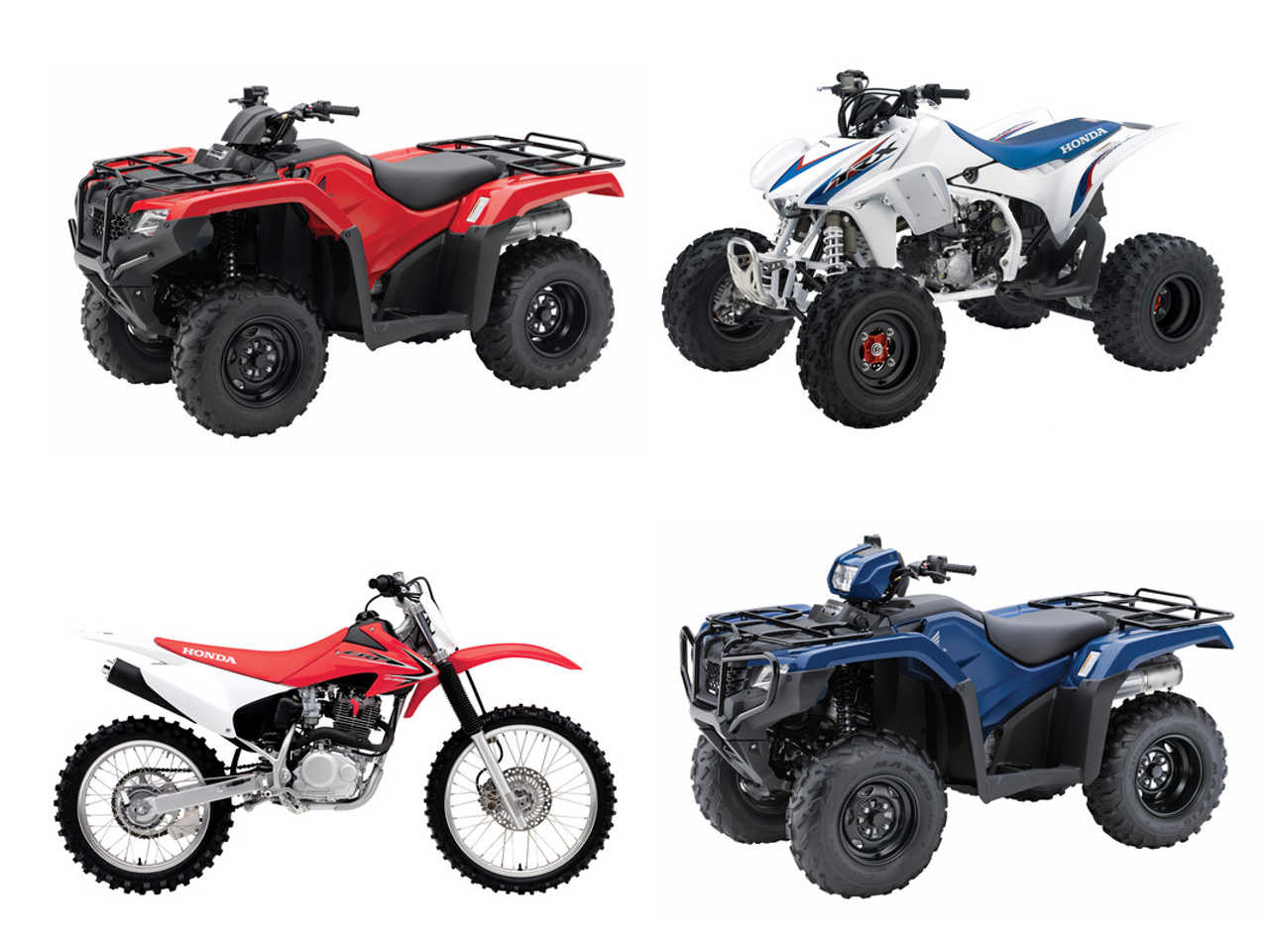 More New Off Road Models Expand The 2014 Honda Lineup