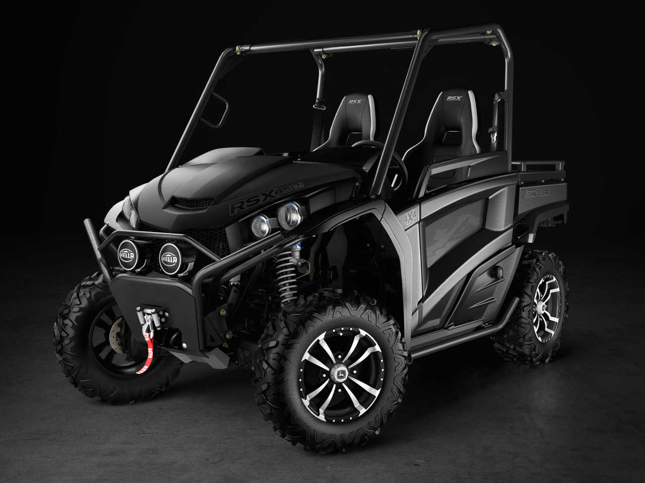 Special Edition John Deere Gators Emerge From The Darkness