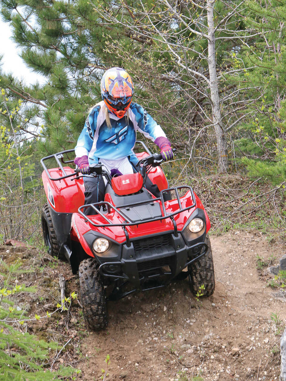 2014 kawasaki brute force 300 review | atv illustrated