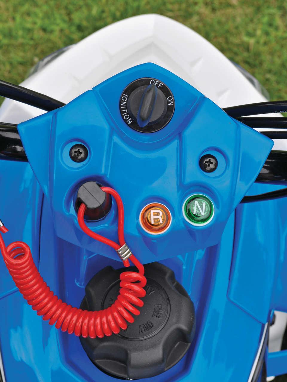 Mini Quad Test The Polaris Outlaw 90 Atv Illustrated Predator Fuel Filter 2014polarisoutlaw90close Upconsole