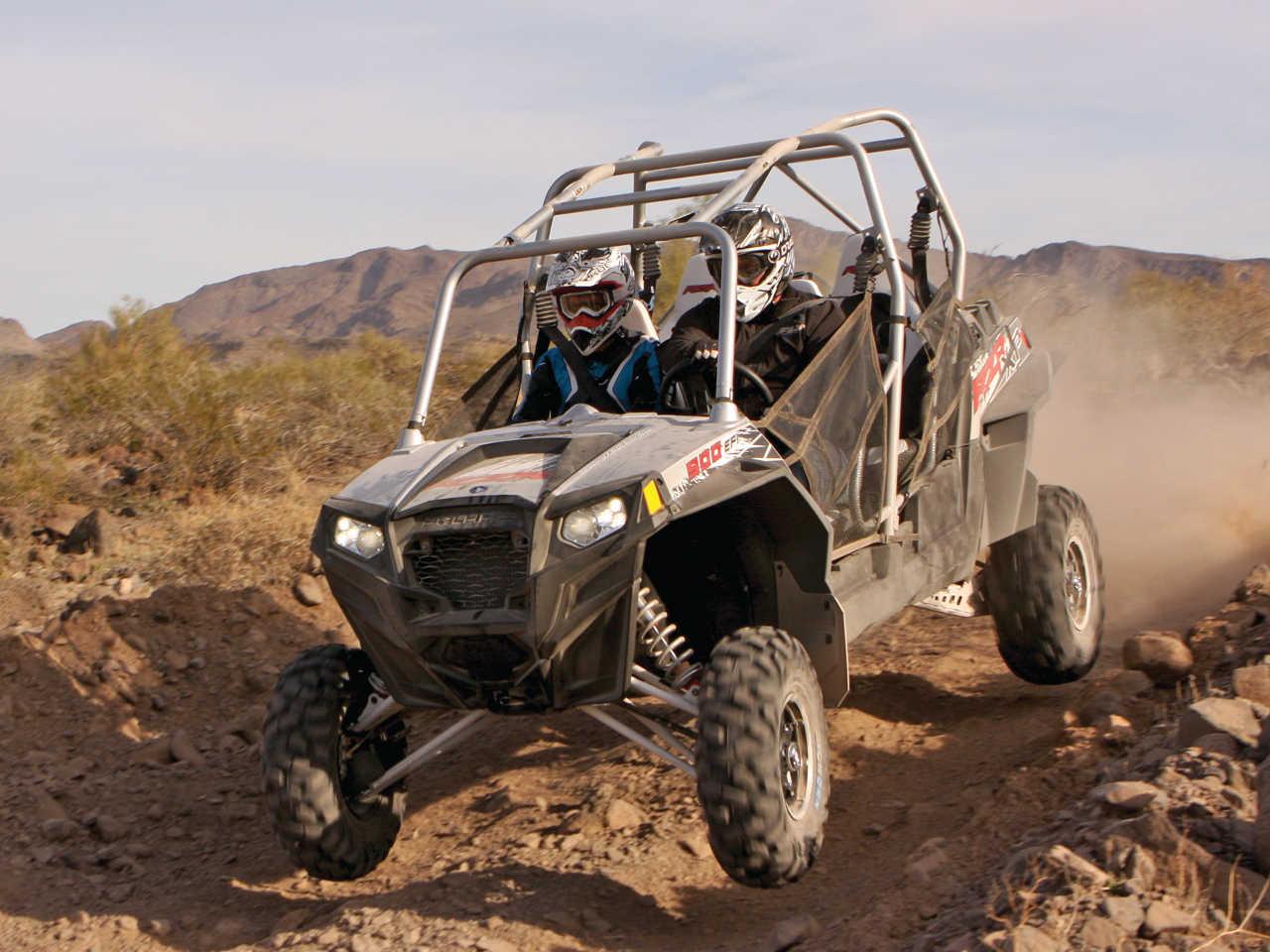 Long Term Report - The Polaris RZR XP4 900 EPS   ATV Illustrated