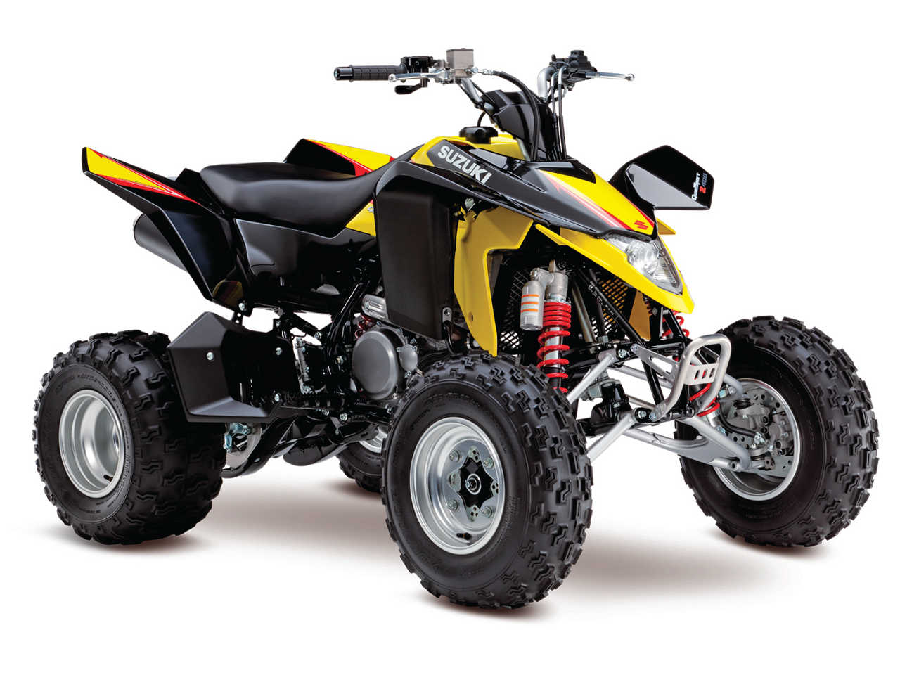 track field ready the suzuki 2014 atv lineup atv illustrated. Black Bedroom Furniture Sets. Home Design Ideas