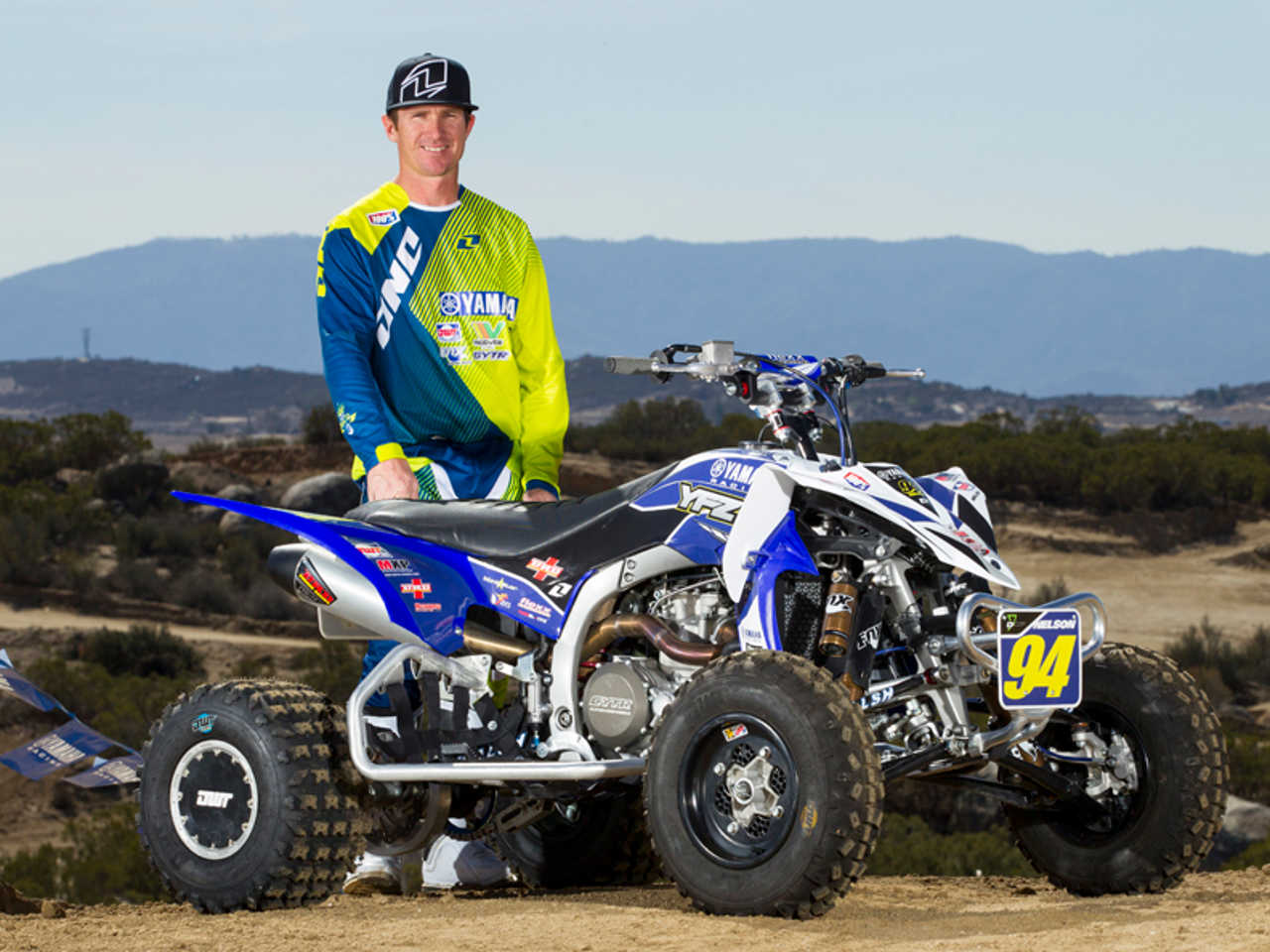 Yamaha atv racing takes 2014 ama mx gncc and quadx series for What year is my yamaha atv