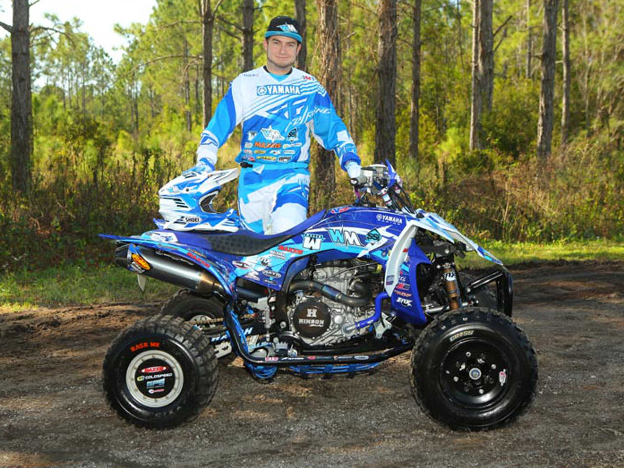 Yamaha atv racing takes 2014 ama mx gncc and quadx series for 2014 yamaha atv
