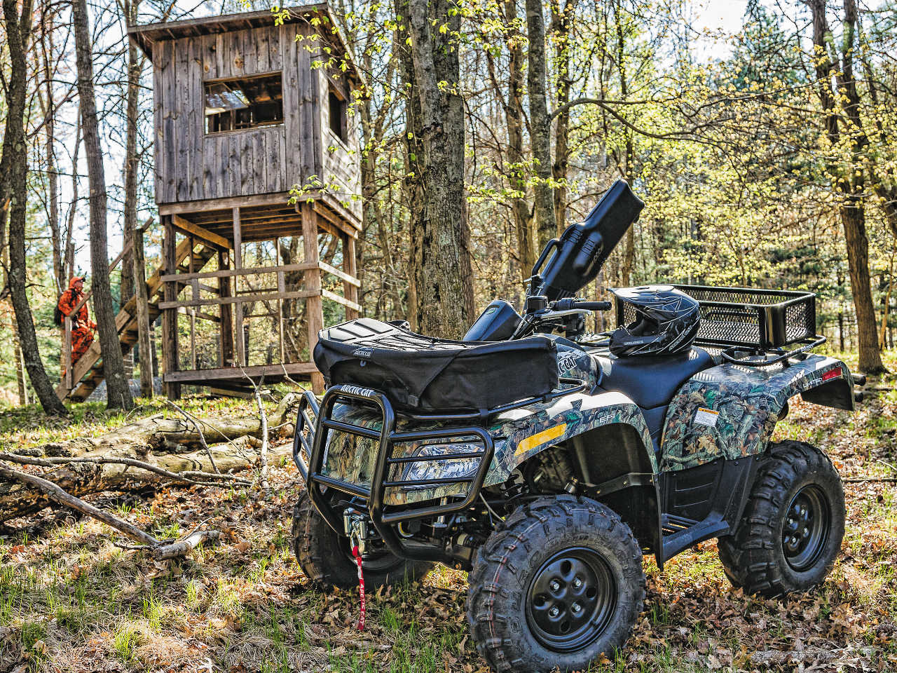 Hunt Special Woods Warrior Atv Illustrated