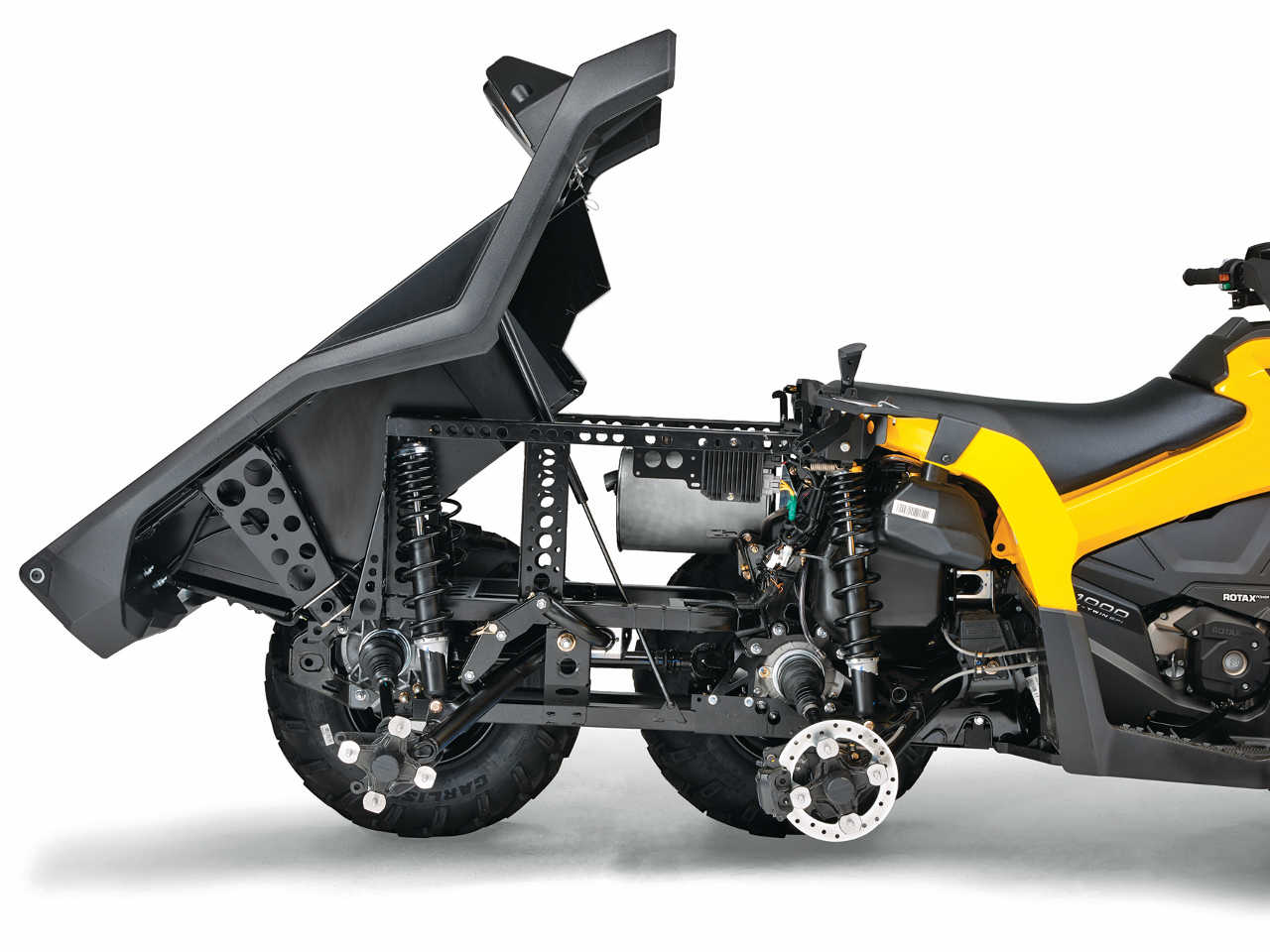 2015 can am atv models outlander l series and outlander 6x6