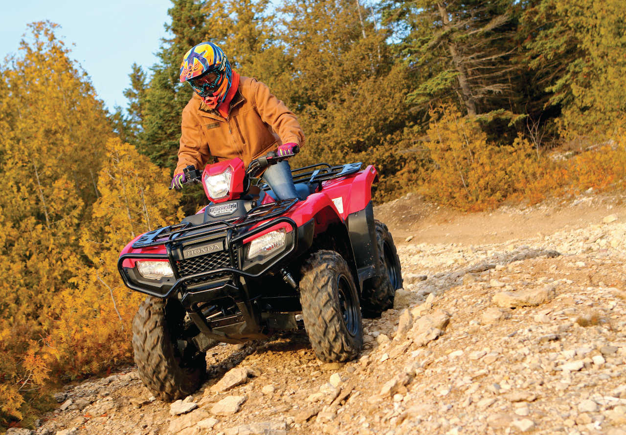 Ride Report - The Honda Fourtrax Foreman Rubicon | ATV