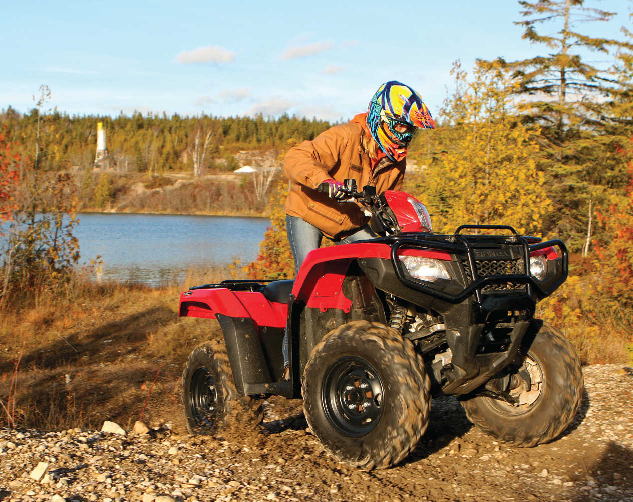 Ride Report - The Honda Fourtrax Foreman Rubicon | ATV Illustrated