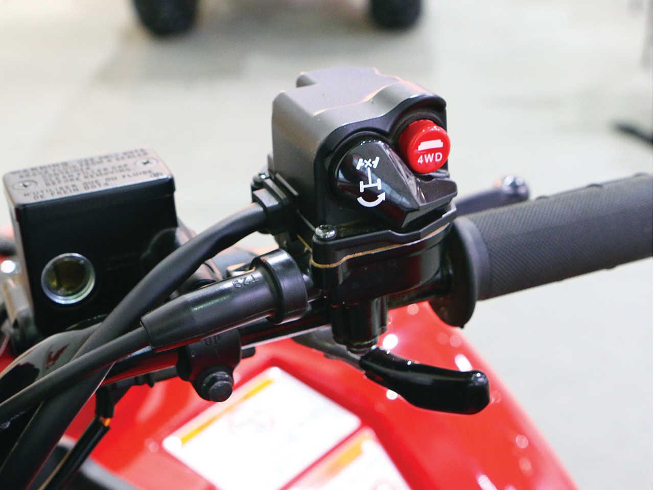how to change honda rancher shift motor