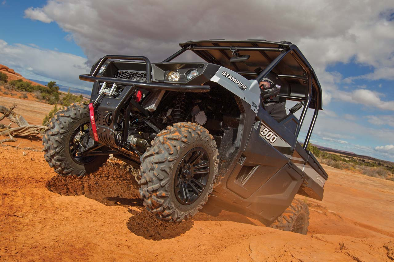 New Model Review The 2016 Stampede 900 4x4 Atv Illustrated