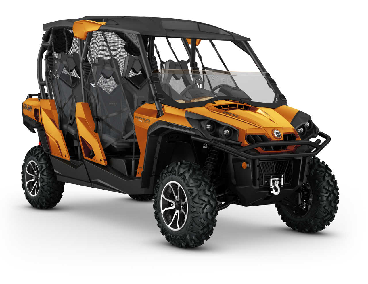 2016 can am commander max family atv illustrated. Black Bedroom Furniture Sets. Home Design Ideas