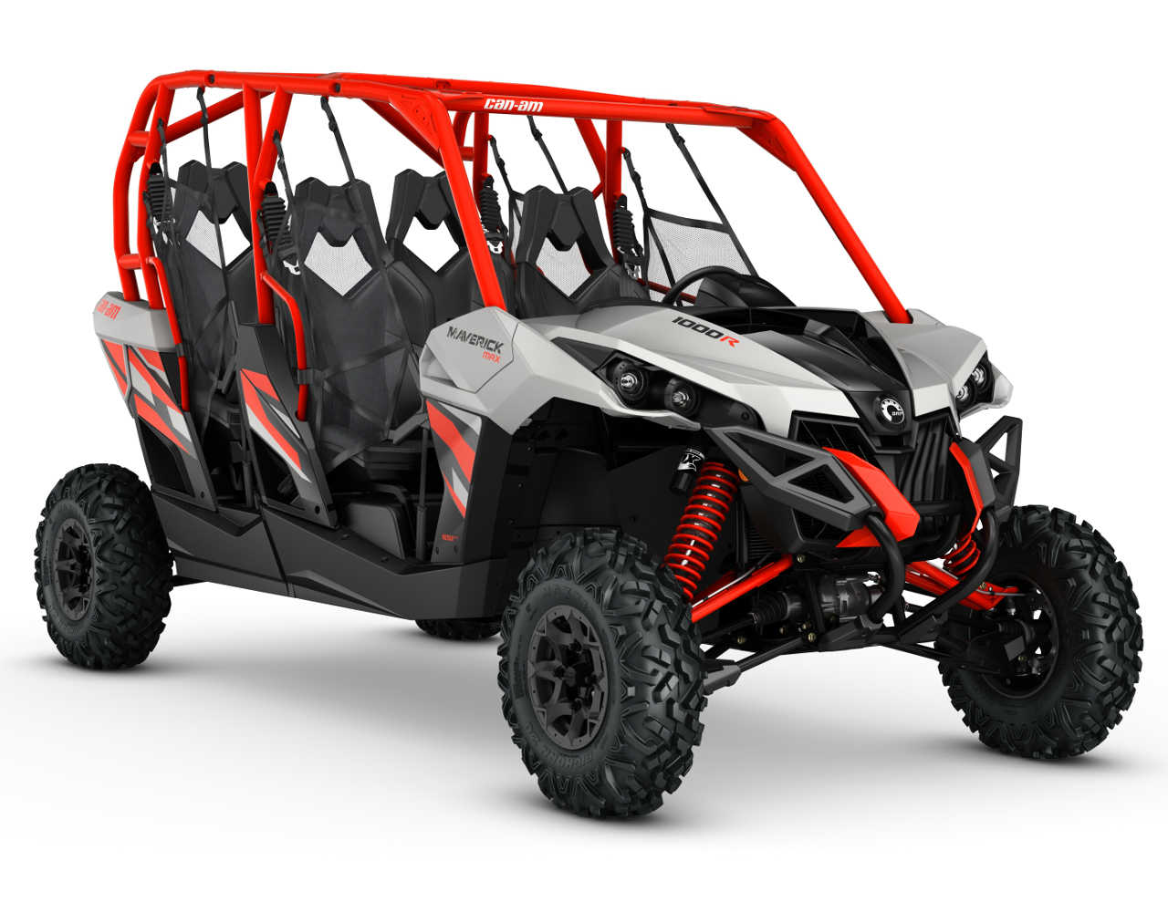 2016 Can Am Maverick Max Dps1000r Grey Front