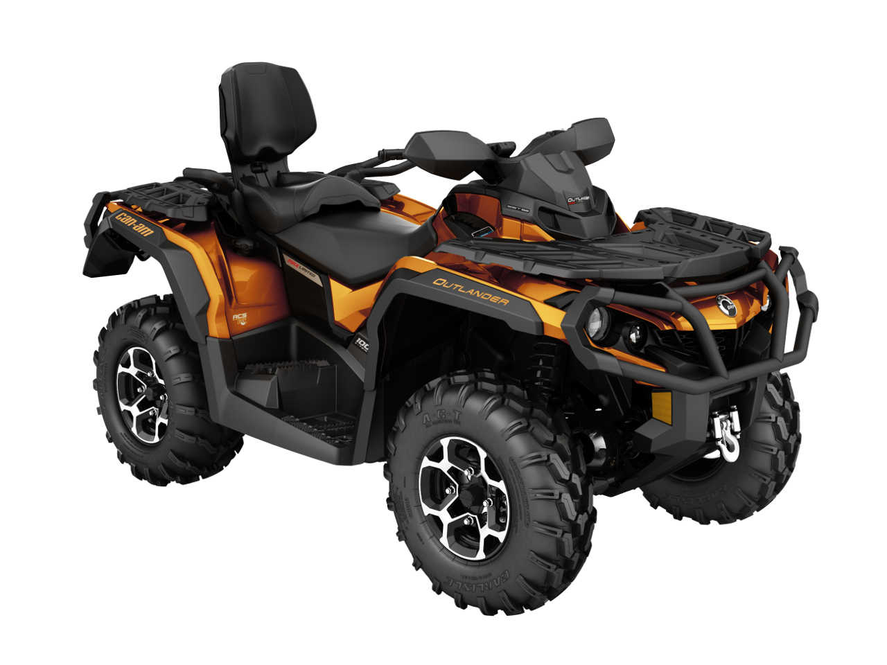 2016 can am outlander family atv illustrated. Black Bedroom Furniture Sets. Home Design Ideas