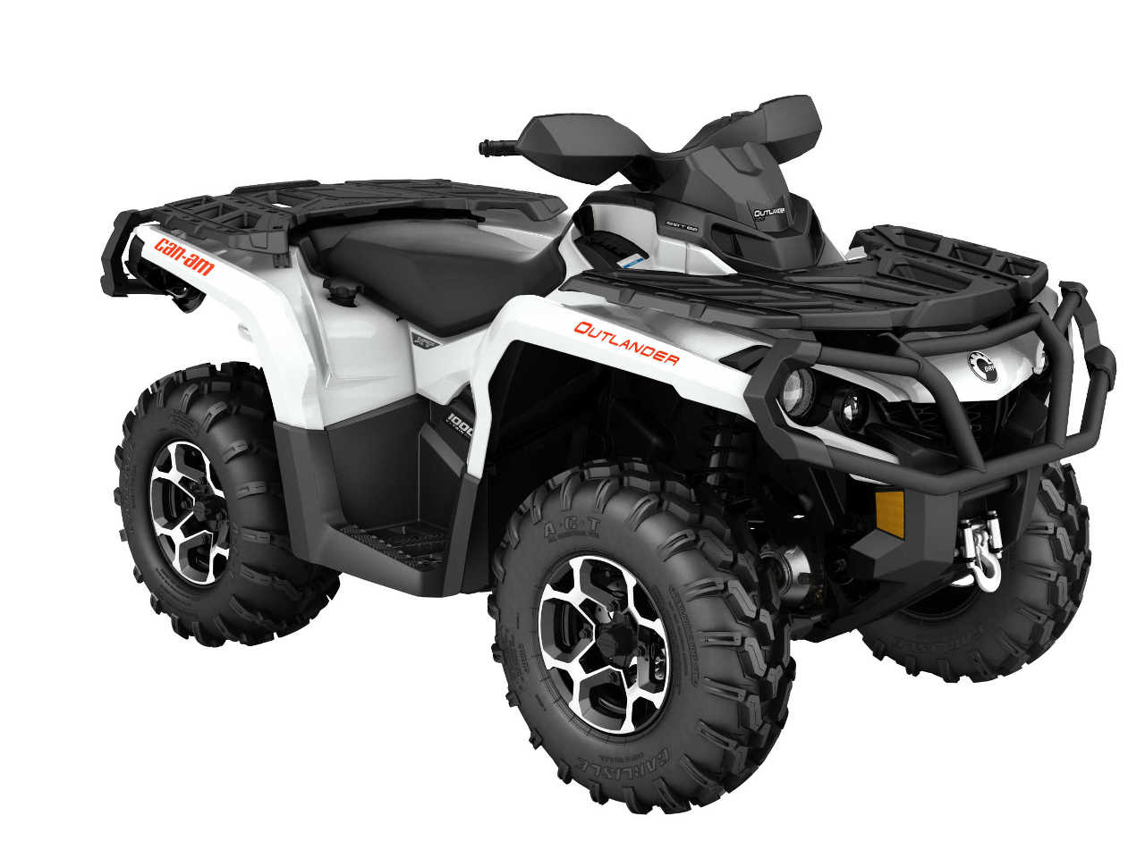 2016.can am.outlander xt 1000r.white_.front right.studio 2016 can am outlander and outlander max line up atv illustrated can am outlander 650 wiring diagrams at bakdesigns.co