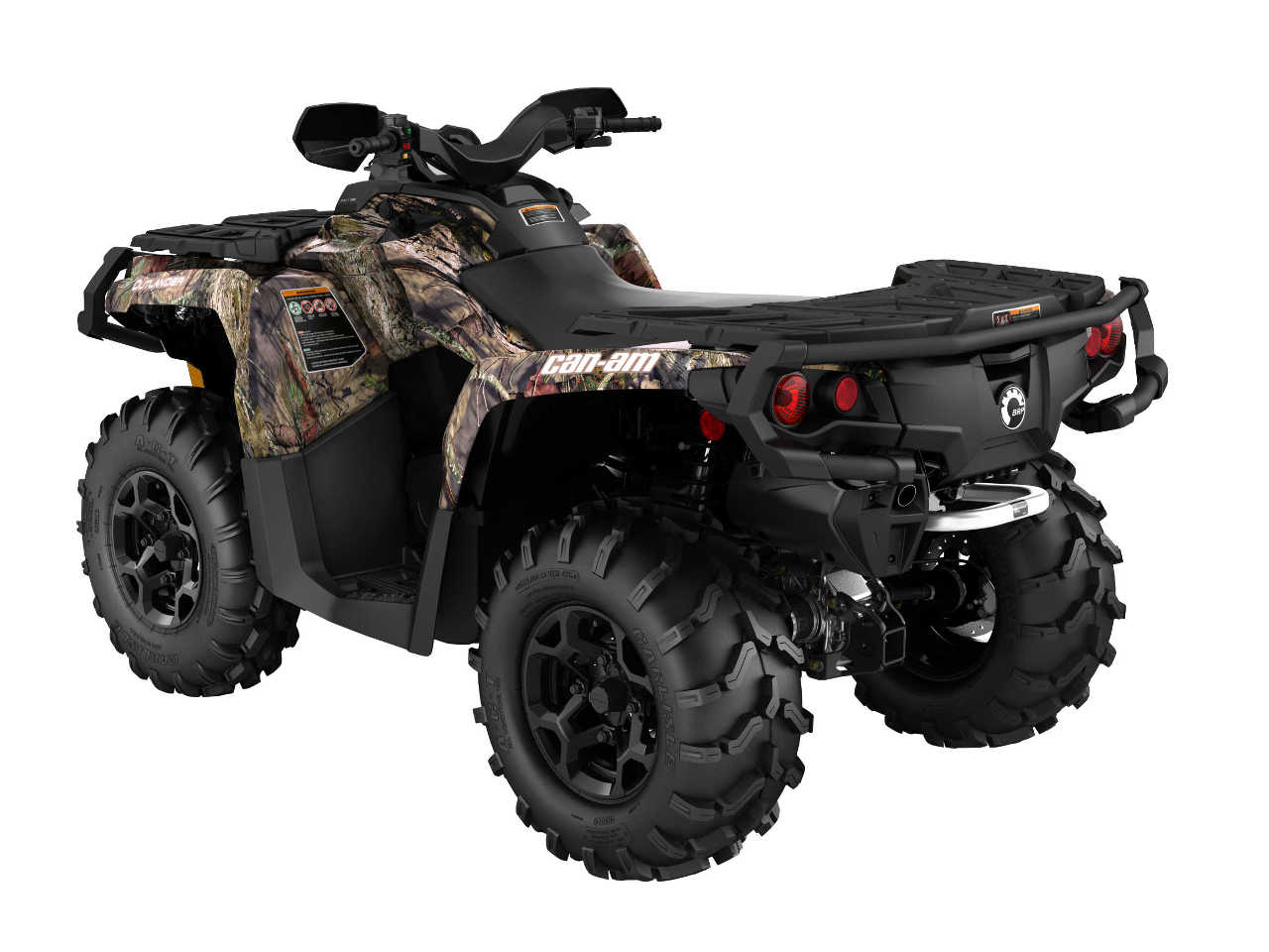 2016 Can Am Outlander Xt 850 Camo Rear