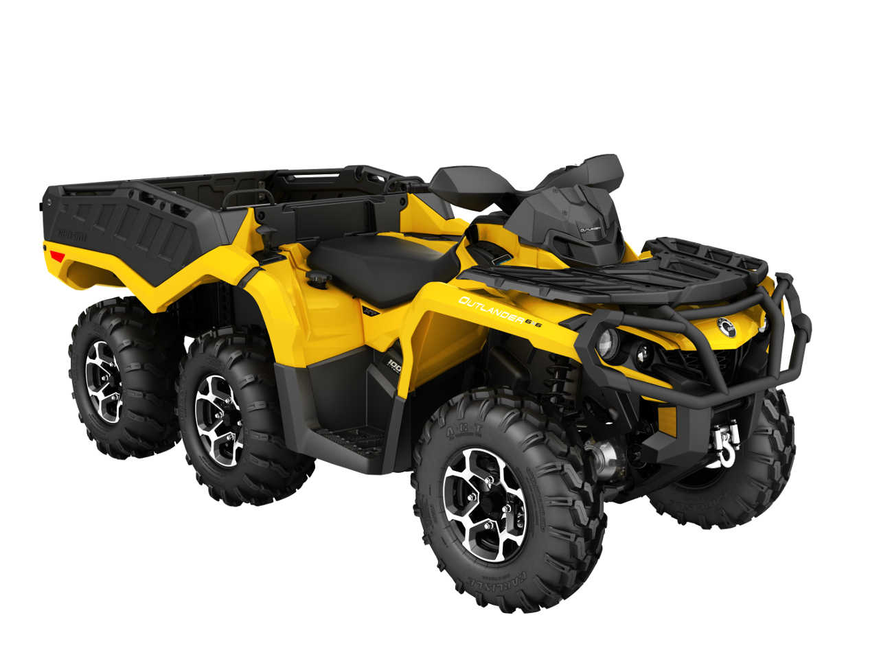 2016 Can Am Outlander 6x6 Family Atv Illustrated