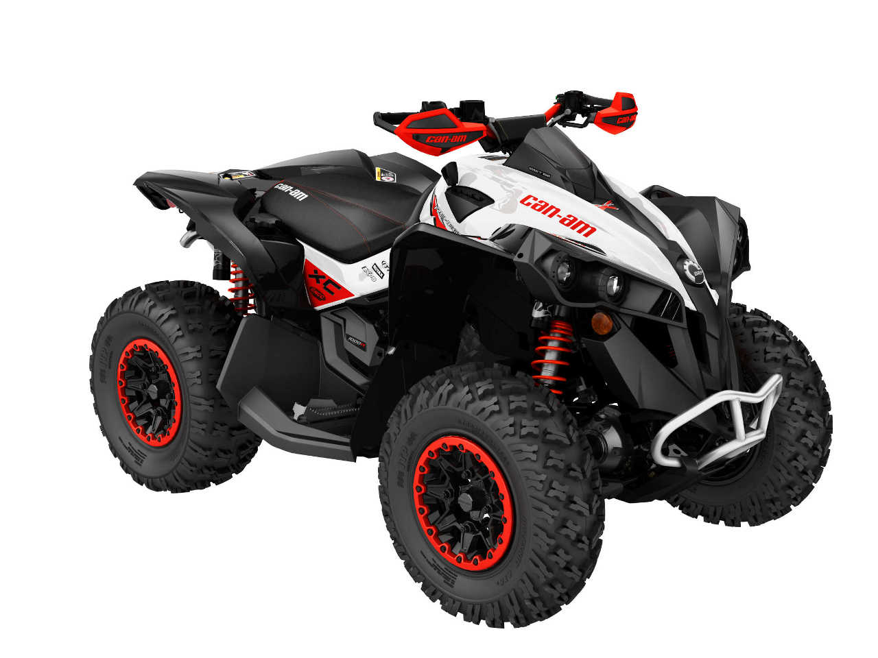 2016 Can Am Renegade Line Up Atv Illustrated