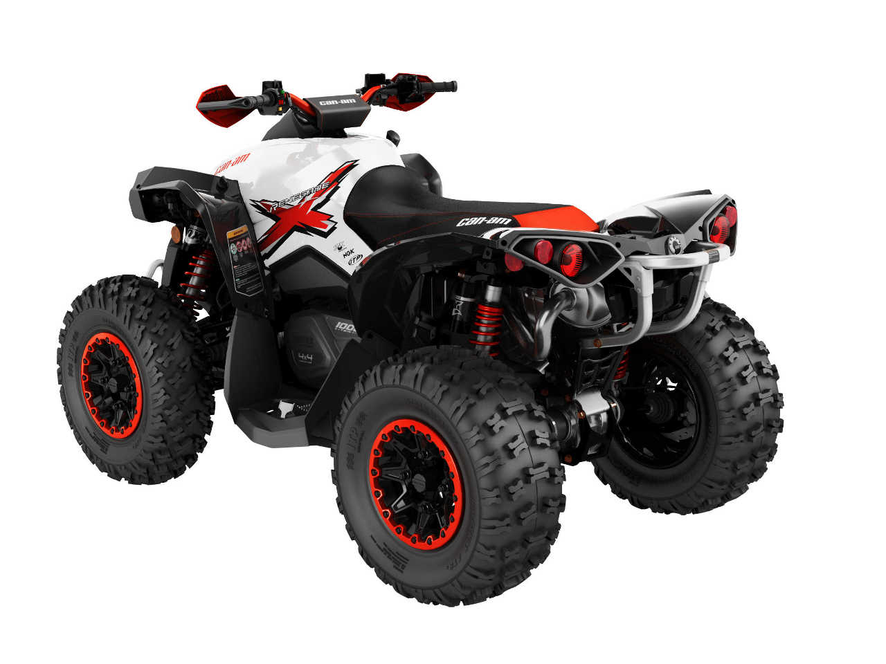2016 can am renegade family atv illustrated. Black Bedroom Furniture Sets. Home Design Ideas