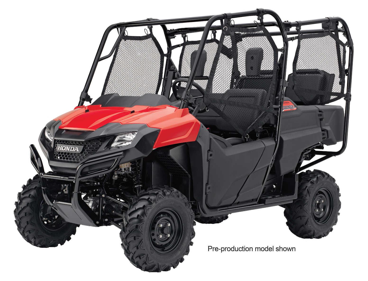 Polaris Side By Side >> Honda Announces 2016 Pioneer 1000 | ATV Illustrated